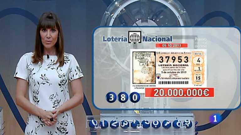 Lotería Nacional - 05/10/13