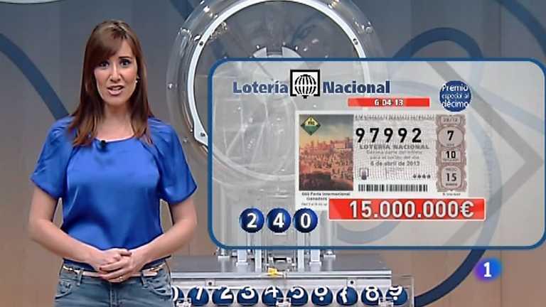 Lotería Nacional - 06/04/13