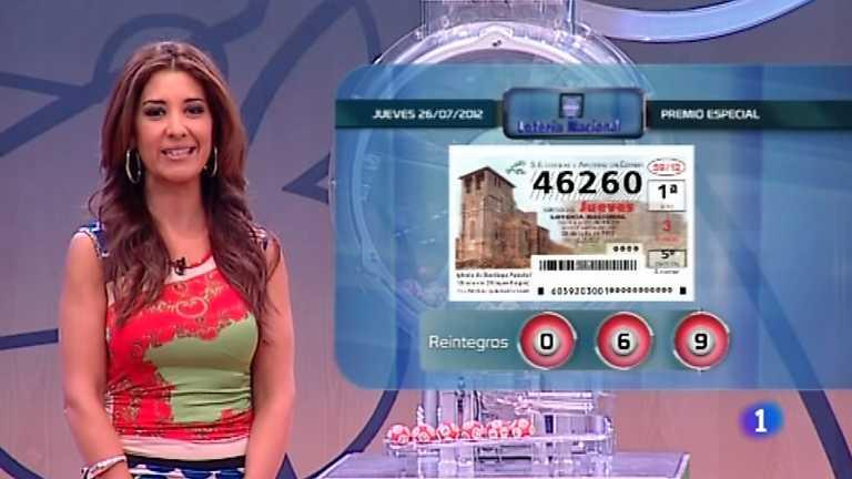 Lotería Nacional y Primitiva - 26/07/12