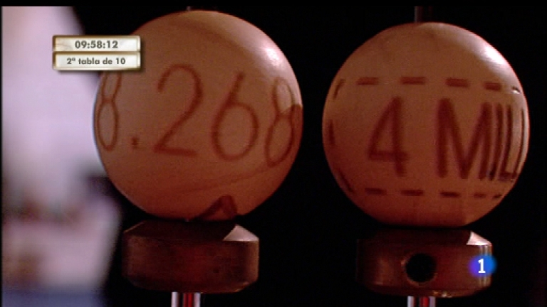 Especial informativo - Sorteo de la Lotería de Navidad 2011 - Segunda hora