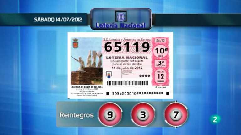 Lotería viajera - 14/07/12