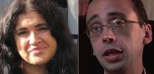 Lucía Etxebarría y David Bravo