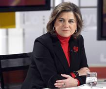 Lucía Méndez, en Los Desayunos de TVE