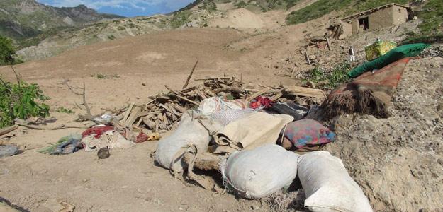 Lugar del terremoto en la provincia afgana de Baghlan