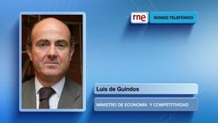 Ver vídeo  'Luis de Guindos descarta que España vaya a pedir un rescate'