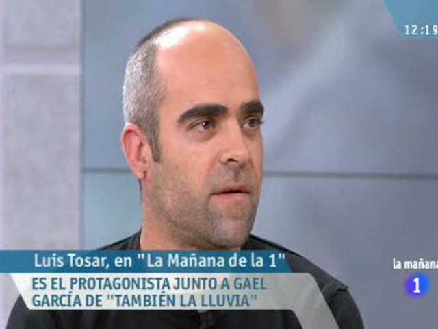 La ma&ntilde;ana de la 1 - Entrevista a Lu&iacute;s Tosar