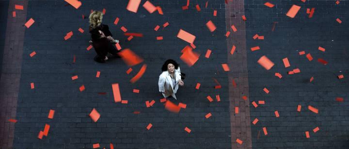 Luisa Gavasa interpreta a Luisa en 'De tu ventana a la mía'