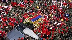 Luto nacional en Caracas