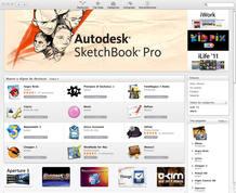 La Mac App Store se comporta en realidad como un mini-navegador muy similar al que incorpora en su interior el software iTunes.