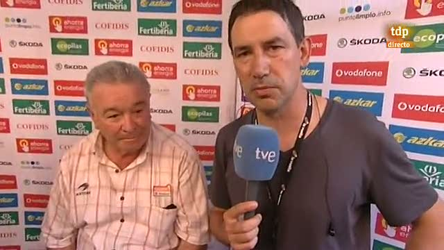 Madariaga: &quot;Gracias a la Vuelta por haber regresado al Pa&iacute;s Vasco&quot;