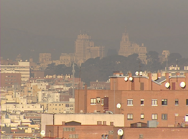 Preocupaci&oacute;n en Madrid por los altos niveles de contaminaci&oacute;n