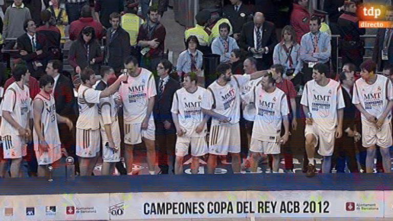 El Madrid recibe su 23ª Copa del Rey