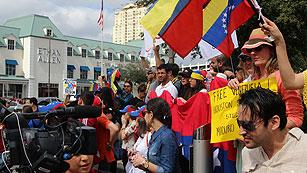 Ver vídeo 'Maduro acusa al opositor Leopoldo López de promover las últimas protestas en Venezuela'