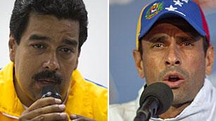 Ver vídeo  'Maduro y Capriles se acusan de promover la violencia postelectoral que deja ya siete muertos'