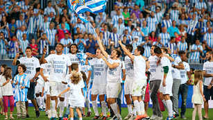 Ver v&iacute;deo  'El M&aacute;laga celebra su puesto de Champions'