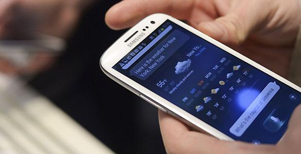 El Samsung Galaxy S III fue presentado en Londres