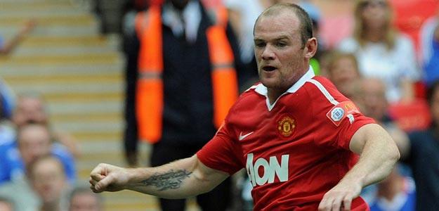 El delantero del Manchester United, Wayne Rooney