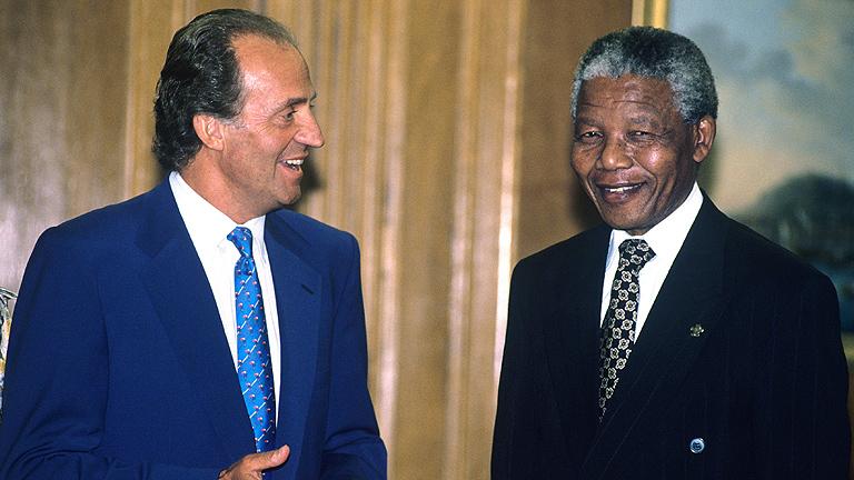 Mandela, una relación fluida con España