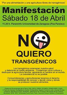 Manifestación antitransgénica