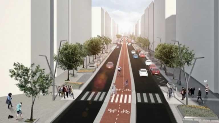 El proyecto de la calle Vitoria no convence a los vecinos de Burgos