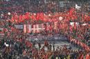 Manifestación en Valencia con motivo de la huelga general