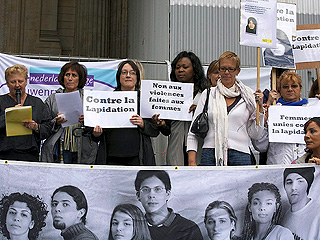 Ver v?deo  'Manifestaciones para acabar con la lapidación de Ashtiani'