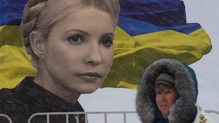 Los manifestantes ucranianos siguen bloqueando con barricadas el centro de Kiev