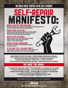 """El manifiesto de """"Repáralo tú mismo"""", el movimiento ideado por Kyle Wiens"""