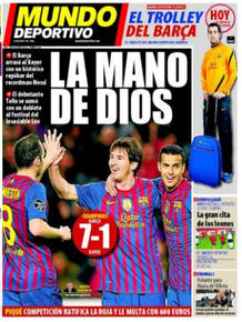 Portada Mundo Deportivo