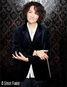 La contralto y directora de orquesta Nathalie Stutzmann