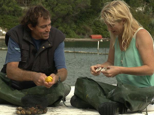 Manuel Cabrera, mariscador de escupiñas (Mahón)