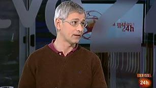"""Ver vídeo  'Manuel Tafalla (Observatorio Astronómico Nacional): """"Podemos estar tranquilos, nada grande nos amenaza""""'"""