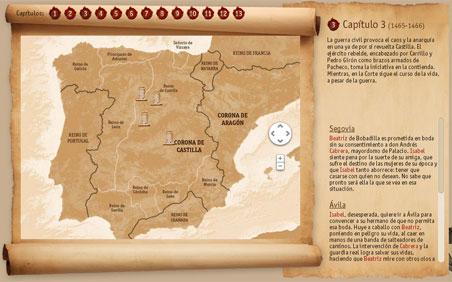 El mapa del capítulo 3