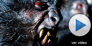 Los maquillajes de los hombres lobo