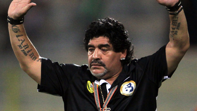 Maradona, destitu&iacute;do como t&eacute;cnico del As-Wasl