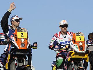 Ver vídeo  'Marc Coma consigue el 2º puesto en la 1ª etapa'