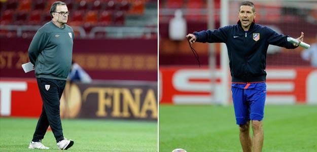 Marcelo Bielsa y Diego Simeone