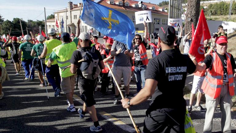 La marcha minera llega a la Comunidad de Madrid y prepara su semana reivindicativa
