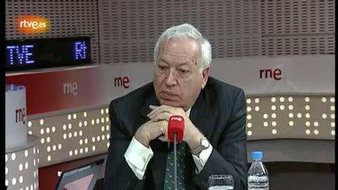 """Ver vídeo  'Margallo: """"El rey hizo un movimiento con la pierna izquierda y puso cara de dolor""""'"""