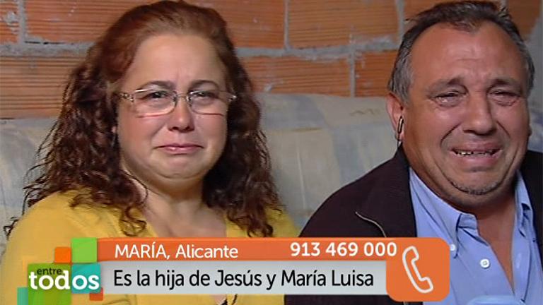 La hija mayor de Mª Luisa y Jesús llama al programa