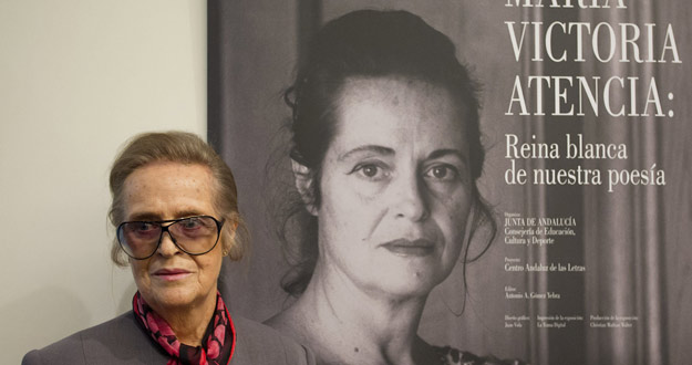 """MARÍA VICTORIA ATENCIA: """"CUANDO SE ENTRA EN LA POESÍA, ESE CAMINO NO ACABA"""""""