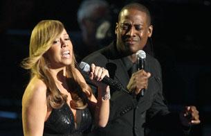 Ver v?deo  'Mariah Carey, gran amiga de Jackson, homenajea a su ídolo cantando en el Staples Center'