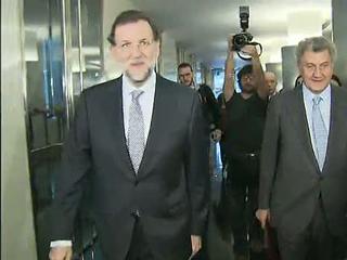 Ver vídeo  'Mariano Rajoy llega al Congreso de los Diputados en el día en el que se conforman las Cámaras'