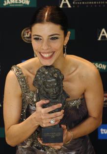 Maribel Verdú recibe el Goya 2008