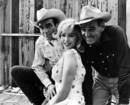 Marilyn Monroe, Montgomery Clift y Clark Gable en 'Vidas rebeldes', 1961.