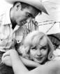 Marilyn Monroe y Montgomery Clift en &#146;Vidas rebeldes&#146;, 1961.