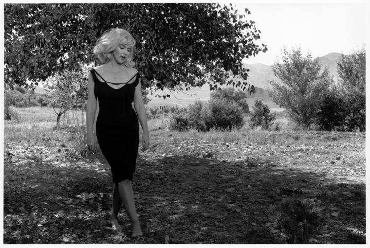 Marilyn Monroe en el rodaje de 'Vidas Rebeldes', Reno, Nevada, 1960 © Inge Morath / The Inge Morath Foundation / Magnum Photos