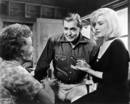 Marilyn Monroe, Thelma Ritter y Clark Gable en &#146;Vidas rebeldes&#146;, 1961.