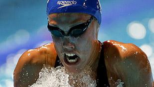 Marina García, a la final de los 100 braza con otro récord de España