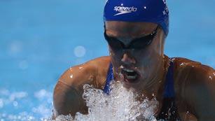 Marina García logra el sexto puesto en la final de los 200 braza